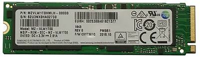 Samsung PM961 1TB M.2 NGFF PCIe Gen3 x4, NVME Solid state drive SSD, OEM (2280)