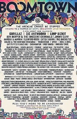 Boomtown 2018 Chapter 10 eTicket Wednesday entry + travel