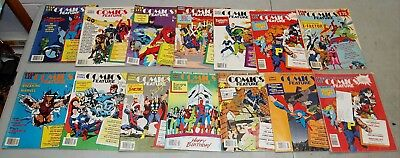 "Nice!! Rare!! Vtg Stan Lee ""COMICS FEATURE MAGAZINE"" Lot of 14 (Comic Books)"