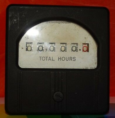 Westinghouse Hour Meter #1205873 Rh-35 120V 60 Cycles