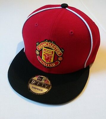 d2573912426 NEW ERA 9FIFTY Snapback Cap - Manchester United black   red -  22.40 ...