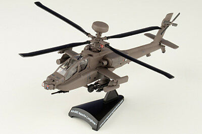Postage Stamp Planes 1/100 AH-64D Longbow Apache Helicopter US Army