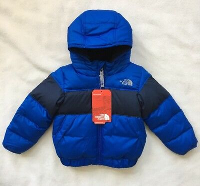 THE NORTH FACE Toddler Boys Moondoggy 2.0 Down Jacket Blue NWT $110 SIZE 2T