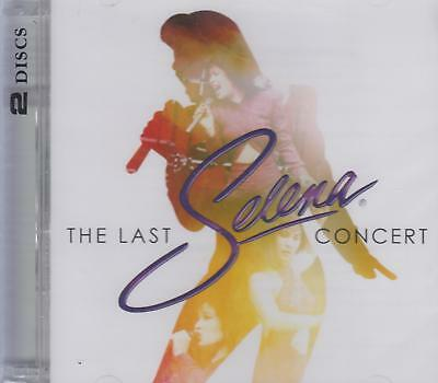 SEALED - Selena NEW The Last Concert Includes 1 CD & 1 DVD SHIPPING NOW !!!