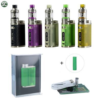 SC Eleaf iStick Pico RESIN Melo4 D22 E-Zigarette Set 75W Full Kit + 3000mAh Akku