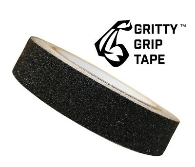 "Gritty Grip Tape - Anti Slip Traction Tape (1"" x 196"") Black"