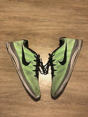 "super popular aeb32 a70eb Nike Flyknit Lunar 1+ ""Electric Green"" US 11  554887-300"