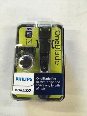 Philips Norelco OneBlade Pro and 1-Count Replacement Head Bundle QP6520/70