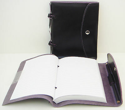 Black Leather Journal/Diary/Notebook