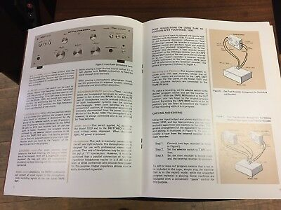 MARANTZ Original Model 4140 HANDBOOK OF INSTRUCTIONS Quad Receiver Manual
