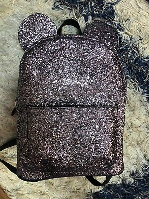 Disney Sparkle Backpack From Primark Mickey Mouse Bag
