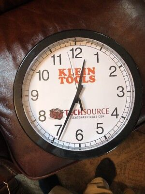 "Klein Tools 12"" Clock"