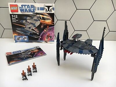 Lego Star Wars 8016 Hyena Droid Bomber 100 Complete Minifigs