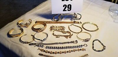 Vintage Costume Jewelry Mixed Lot Bracelet untested