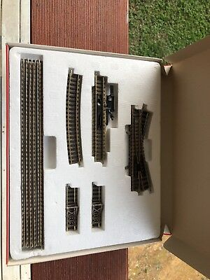 One Lot Of Fleischmann Piccolo N Scale Profi Track, Points Straight Curves
