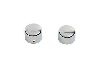 Chrome Front Axle Cap Cover Set Cap Style,fits Harley Davidson motorcycle models