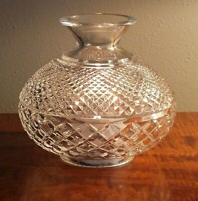 Waterford Crystal Lamp - replacement top, hurricane