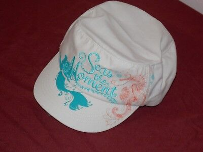 Disney Parks Seas The Moment Ariel Little Mermaid Baseball Cap Hat Adult New