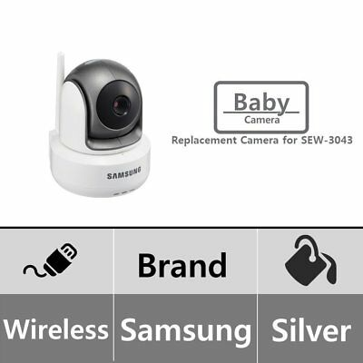 Samsung SEP-1003R BrightView Wireless 720p HD PTZ Video Baby Camera for