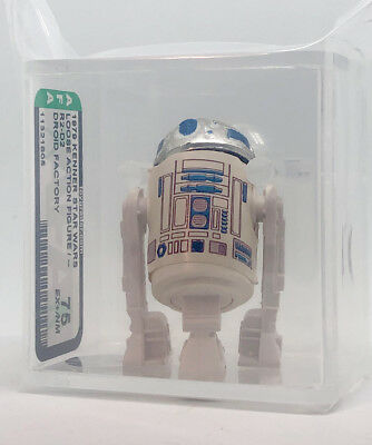 Kenner Star Wars R2-D2 Droid Factory No COO AFA 75 loose vintage