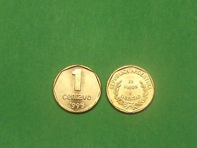 ARGENTINA  1998  1 CENTAVO  KM113a  UNCIRCULATED