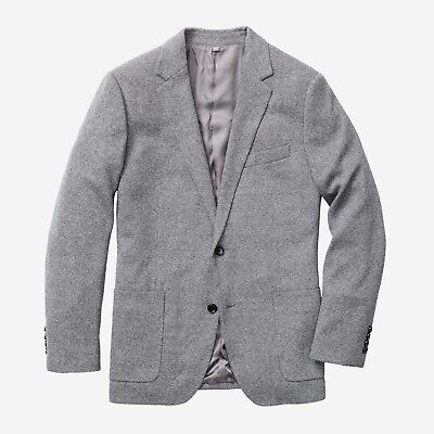 BONOBOS Slim Fit Unconstructed Italian Knit Blazer Jacket, Size 40S Short, $350