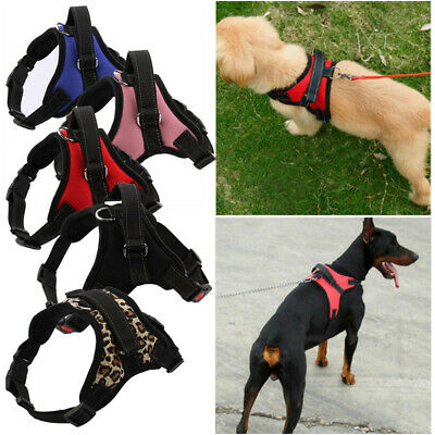 Pet Dog Vest Harness Leash Collar Set No Pull Adjustable Small/Medium/Large/XL