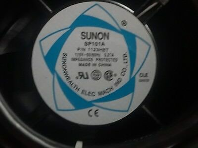 Sunon SP101A AXIAL FAN 115VAC .21 Amp, Impedance Protected NEW