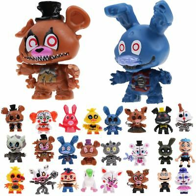 24 PCS Five Nights At Freddy's FNAF Bunnie Game Action Figure Doll Toys Gift US