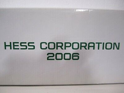 """Hess Corp For The NYSE 2006 Tractor Trailer & 2 Racers-""""NOT SOLD TO THE PUBLIC"""""""