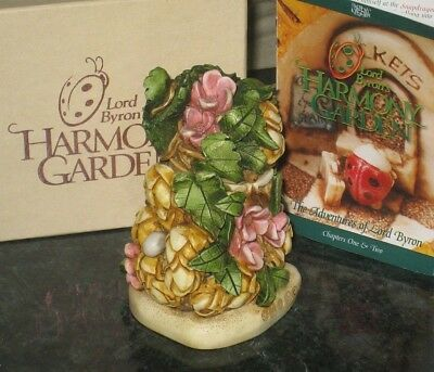 Harmony Kingdom Figurine HOPS Lord Byron's Harmony Garden New in Box