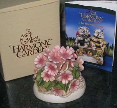 HARMONY KINGDOM Figurine CHERRY BLOSSOM Lord Byron's Harmony Garden Retired