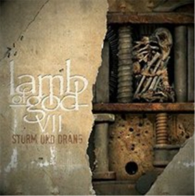 Lamb of God-VII: Sturm Und Drang  (UK IMPORT)  CD Digipak NEW
