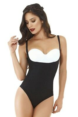 837a45af5 Bodysuit Fajas Colombianas Cocoon 1377 1378 Light Thermal Body Reduce  Medidas