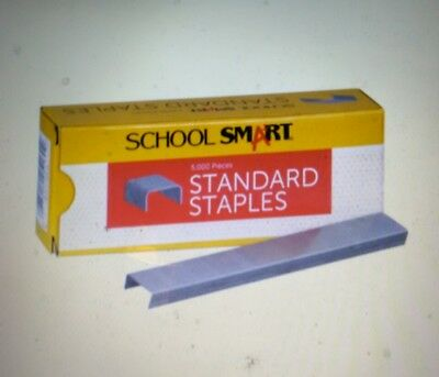 School Smart Standard Staples Pack of 5000