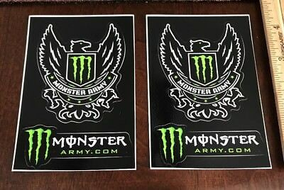 Monster Stickers (lot Of 2)