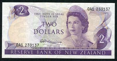 New Zealand - $2 Note - Fleming - 0A1 239137