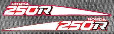 88-89 TRX ATV 250R 2pc Fourtrax Front Fender Decals Stickers graphics