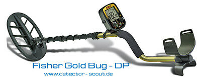 Fisher gold bug dp and raider metal detector