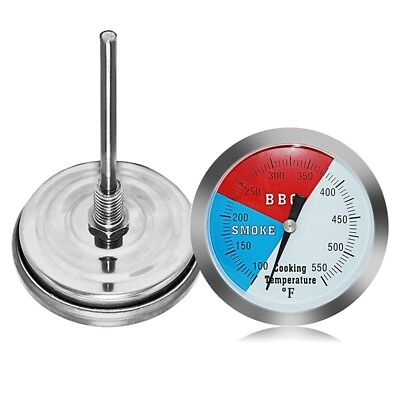 Thermometer Bratenthermometer Grillthermometer Edelstahl BBQ Temp Gauge 100~550℃