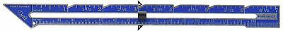 Dritz Seam Gauge with Point Turner, 7-Inch