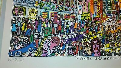 """James Rizzi """"Times square - Everyone should go there"""""""