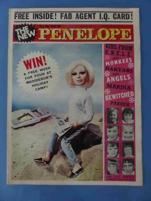 Lady Penelope 54 1967 Monkees Girl From Uncle Gerry Anderson! High Grade!