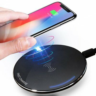 Wireless Charger Ultra-Slim for iPhone X,iPhone 8/8 Plus,Samsung S9/S9+/S8/S8+
