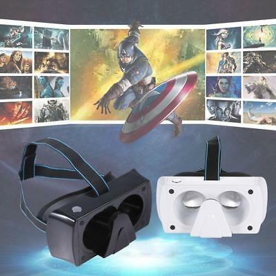 Virtual Reality Head-Mounted Button style 3D glasses Magic Mirrors for iPhone BG