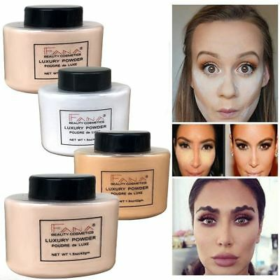 Makeup FANA Smooth Loose OilControl Face Highlighter Mineral Powder Concealer