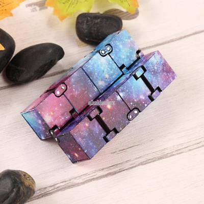 Luxury EDC Infinity Mini Stress Relief Fidget Anti Anxiety Stress Funny Cube T