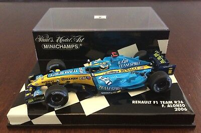 Minichamps 1:43 Renault R26      F Alonso World Champion 2006