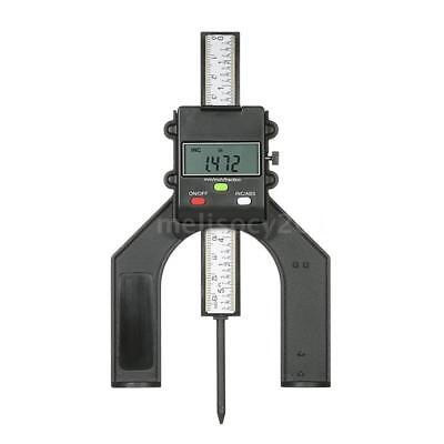 0-130mm Measuring LCD Digital Height Depth Gauge for Woodworking Table Saw J6O7