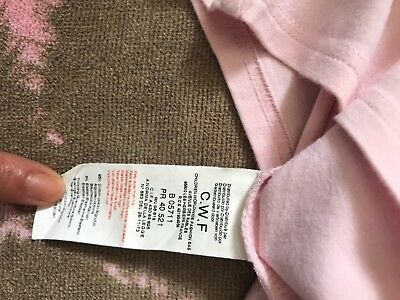 baby girls burberry top